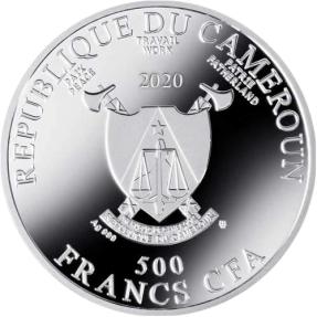 現貨 - 2020紐埃-古斯塔夫·克林姆-金色藝術-朱蒂絲 II-17.5克銀幣