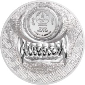 現貨(原廠已售罄) - 2021蒙古-神秘狼-1盎司銀幣