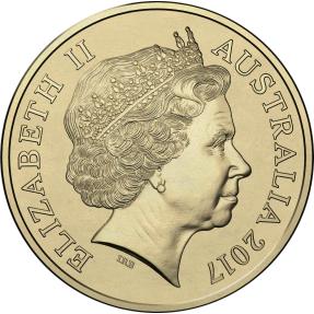 現貨 - 2017澳洲皇家-雞年-1澳元-硬幣