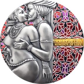 現貨 - 2020喀麥隆-愛的時刻系列-慾經II-3盎司銀幣
