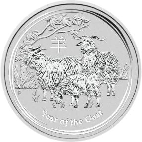 現貨 - 2015澳洲伯斯-羊年-1盎司銀幣