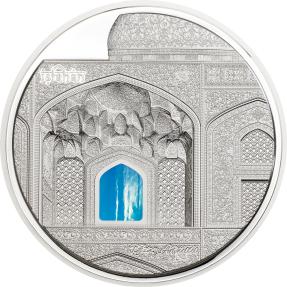 現貨 - 2020帛琉-蒂芙尼藝術系列-伊斯法罕聚禮清真寺-3盎司銀幣