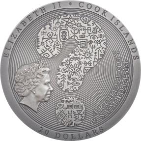 預購(確定有貨) - 2020蒙古-考古與象徵主義系列-科約爾沙赫基之石(彩色版)-3盎司銀幣