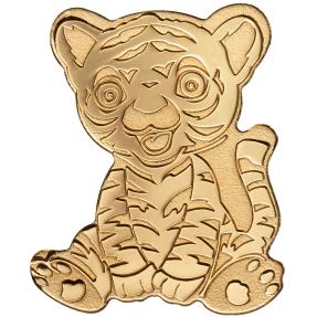 現貨 - 帛琉-造型系列-小老虎-0.5克金幣