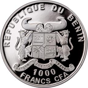 現貨 - 2017貝南-生命之源-1盎司銀幣