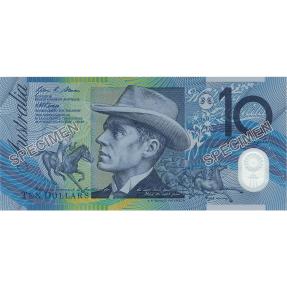 現貨 - 2017澳大利亞原廠紙夾-新,舊版10澳元紙鈔-2張組