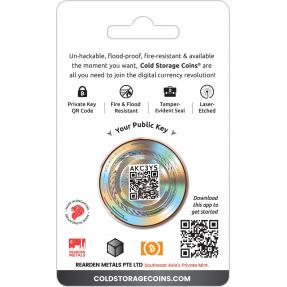 現貨 - 數位加密貨幣-多吉幣(狗狗幣)-1盎司銅幣(卡裝)