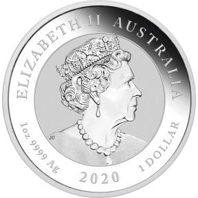 現貨 - 2021澳洲伯斯-牛與熊-1盎司銀幣(普鑄)
