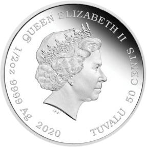 預購(限已確認者下單) - 2020吐瓦魯-永遠在一起系列-水獺-1/2盎司銀幣