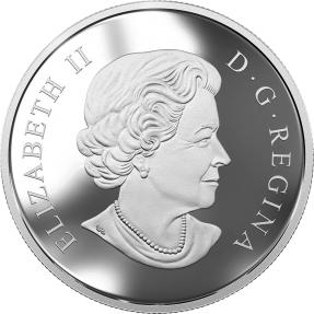 預購(限已確確者下單) - 2017加拿大-禪繞畫藝術-大灰狼-2盎司銀幣