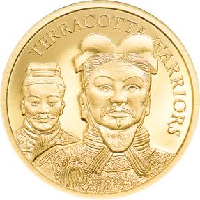 預購(限已確認者下單) - 2021庫克群島-兵馬俑-0.5克金幣