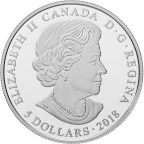 現貨 - 2018 加拿大-誕生石系列-二月份-7.96克銀幣