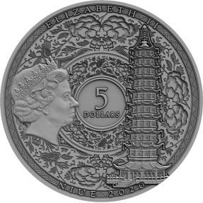 預購(確定有貨) - 2020紐埃-著名的探險家系列-鄭和-2盎司銀幣
