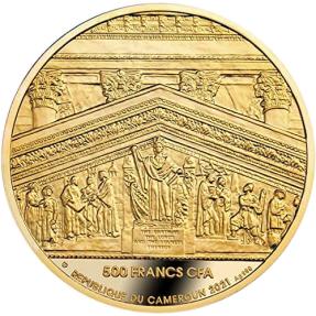現貨 - 2021喀麥隆-紐約證券交易所大贏家-17.5克銀幣