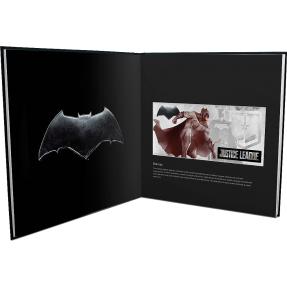 現貨 - 2018紐埃-正義聯盟系列-蝙蝠俠,閃電俠,超人,水行俠,生化人,神力女超人-5克銀鈔(六張組-含收藏冊)