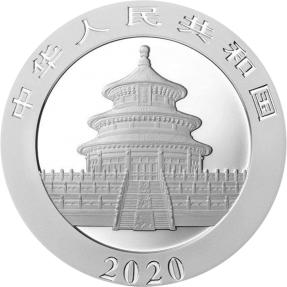 預購(限已確認者下單) - 2020中國-熊貓-夜光版-30克銀幣