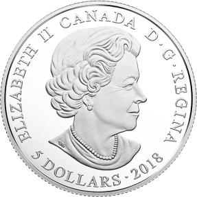 現貨 - 2018 加拿大-誕生石系列-一月份-7.96克銀幣