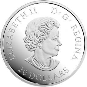 現貨 - 2017加拿大-榮譽:軍事勳章45週年紀念-1盎司銀幣