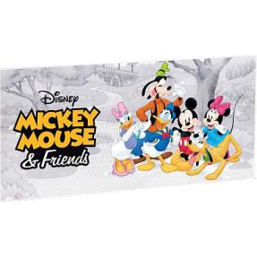 現貨 - 2017紐埃-迪士尼-米奇與朋友們-5克銀鈔