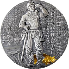 現貨 - 2021紐埃-加密貨幣挖礦-50克銀幣