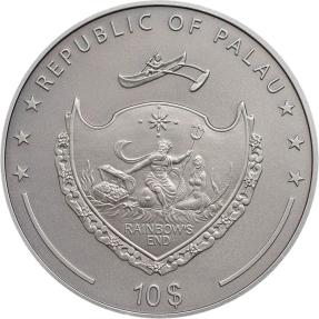 現貨 - 2015帛琉-神話人物系列-美杜莎-2盎司銀幣(第三枚)