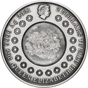 現貨 - 2021吐瓦魯-月亮的眼淚-2盎司銀幣