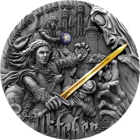 現貨 - 2019紐埃-最後的願望系列-巫師-2盎司銀幣