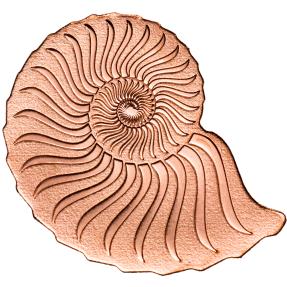 預購(限已確認者下單) - 蒙古-玫瑰金菊石-造型-0.5克金幣
