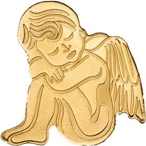 現貨 - 2019帛琉-我的守護天使-造型-0.5克金幣