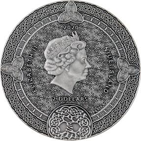 預購(即將到貨) - 2020紐埃-凱爾特日曆-2盎司銀幣