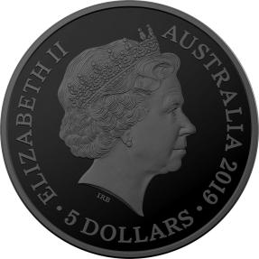 現貨 - 2019澳洲皇家-澳大利亞動物迴聲系列-小兔形袋狸-1盎司銀幣