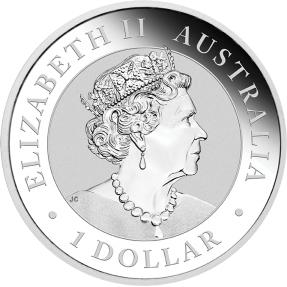 現貨 - 2020澳洲伯斯-鴯鶓-1盎司銀幣