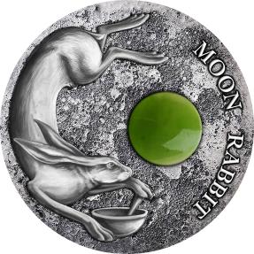 現貨 - 2021紐埃-東方文化收藏系列-玉兔-50克銀幣
