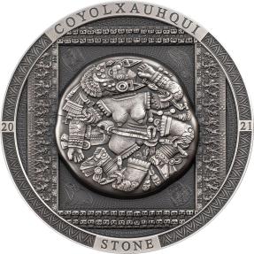 預購(確定有貨) - 2021蒙古-考古與象徵主義系列-科約爾沙赫基之石(仿古版)-3盎司銀幣