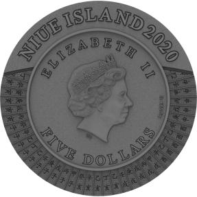 預購(確定有貨) - 2020紐埃-天干地支-2盎司銀幣