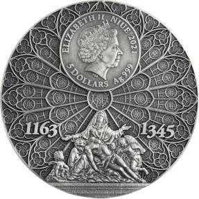 預購(限已確認者下單) - 2021紐埃-巴黎聖母院-2盎司銀幣