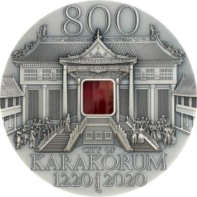 現貨 - 2020蒙古-哈拉和林-800週年紀念-2盎司銀幣