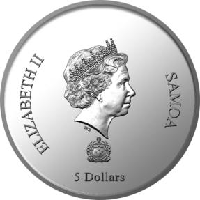 預購(確定有貨) - 2020薩摩亞-觀音-2盎司銀幣