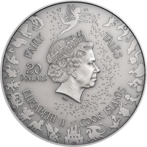 現貨 - 2021庫克群島-童話與寓言系列-白雪公主-3盎司銀幣
