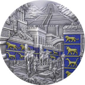 預購(限已確認者下單) - 2021帛琉-失落的文明系列-巴比倫-2盎司銀幣