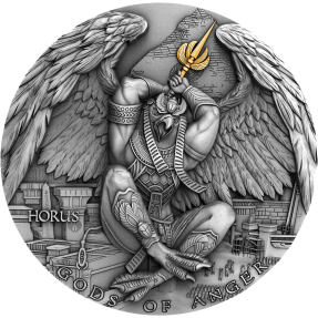 現貨 - 2020紐埃-憤怒之神系列-荷魯斯-2盎司銀幣
