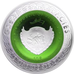 現貨 - 2020帛琉-陰謀系列-51區-2盎司銀幣