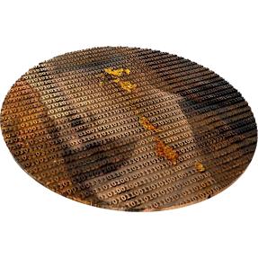 預購(即將到貨) - 2020紐埃-矩陣藝術系列--古斯塔夫·克林姆-金色眼淚-3盎司銀幣