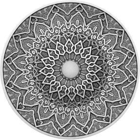預購(限已確認者下單) - 2020斐濟-曼荼羅藝術系列-波斯-3盎司銀幣
