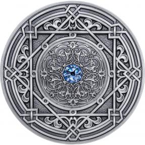 現貨 - 2018斐濟-曼陀羅藝術系列-摩爾-3盎司銀幣