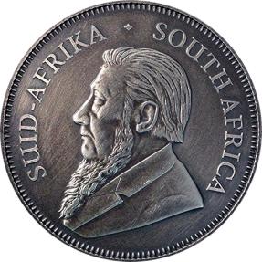 現貨 - 2017南非-克魯格-仿古版-1盎司銀幣
