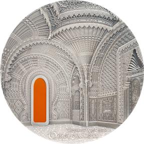 現貨 - 2018帛琉-蒂芙尼藝術系列-東方主義-2盎司銀幣