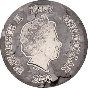 現貨 - 2020紐埃-阿根廷鎳鐵隕石-1盎司隕石幣
