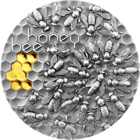 現貨 - 2021紐埃-蜜蜂-2盎司銀幣
