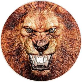 現貨 - 2018坦尚尼亞-稀有野生動物系列-獅子-2盎司銀幣